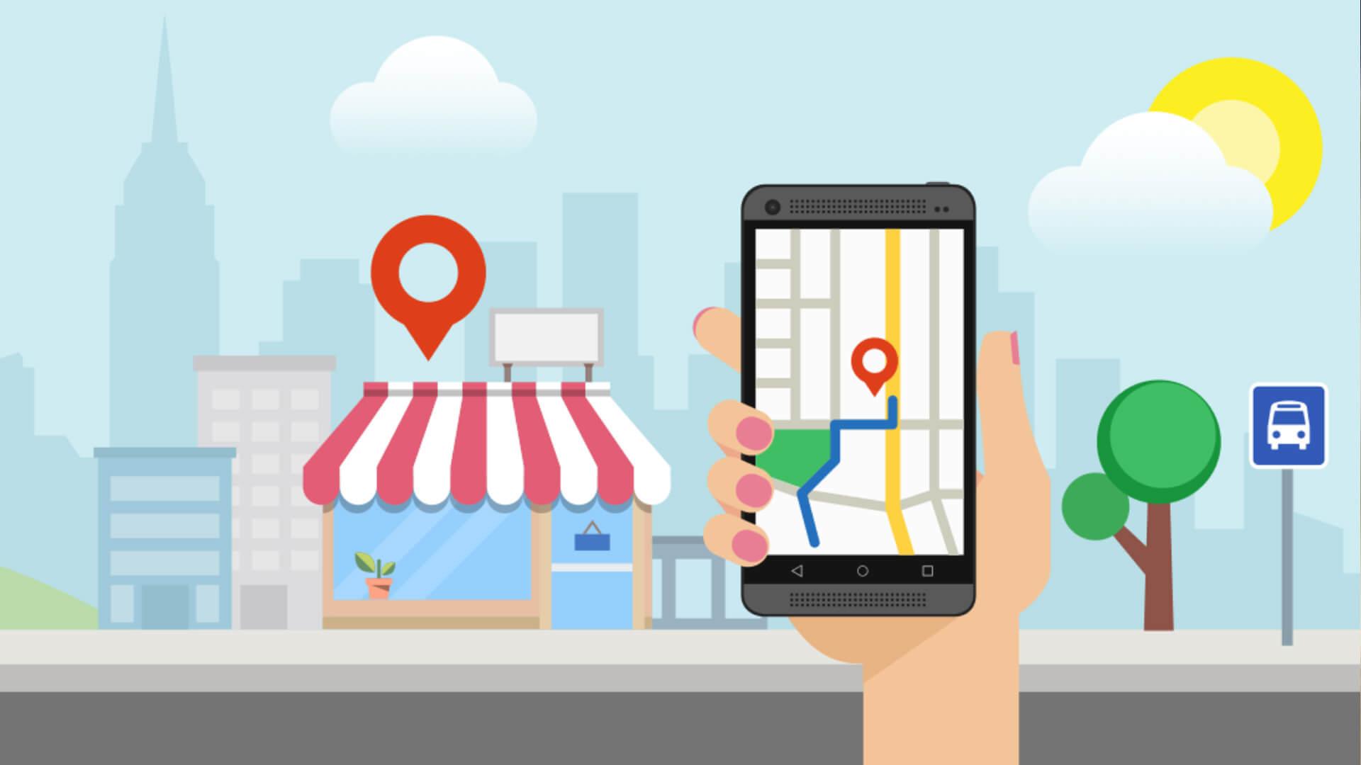 Pozycjonowanie w mapach Google